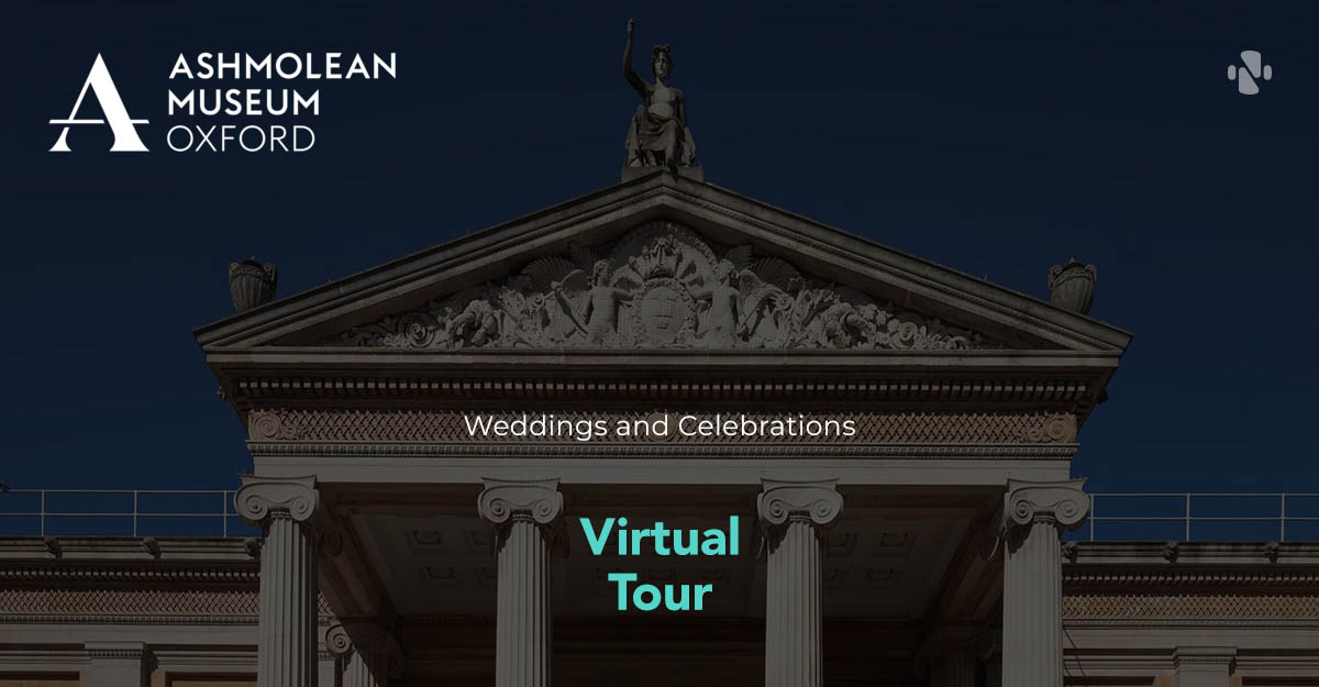 Virtual tour of Ashmolean Museum events spaces